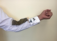 Tribexor, a fabric-based, triboelectric, joint-sensing system